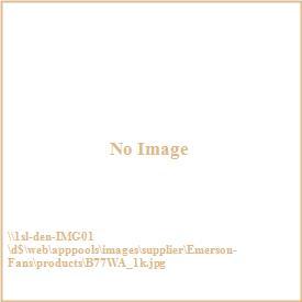 "Emerson Fans B77WA Carrera Grande 22"" Walnut Solid Wood Blade - Set Of 5 Blades"