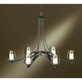 Hubbardton Forge 10-4116 Ribbon - Six Light Chandelier