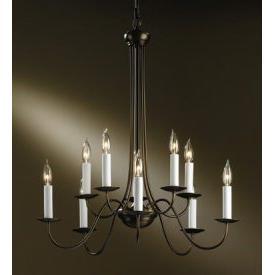 Hubbardton Forge 10-7080 Simple Lines - Ten Light Chandelier