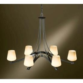 Hubbardton Forge 10-4106F Oval Ribbon - Six Light Chandelier