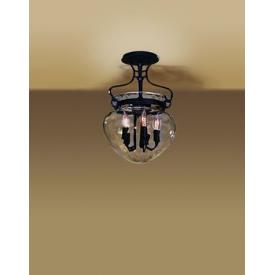 Hubbardton Forge 12-6754 Acharn - Five Light Semi-Flush Mount