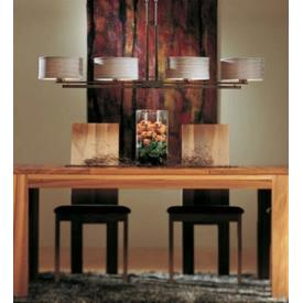 Hubbardton Forge 13-2200-Shade 4 Light Pendant - Trestle
