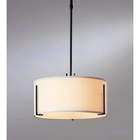 Hubbardton Forge 13-9600 Exos - Three Light Medium Adjustable Pendant