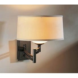 Hubbardton Forge 20-9310L Forged Bar Swing Arm - One Light Left Wall Sconce