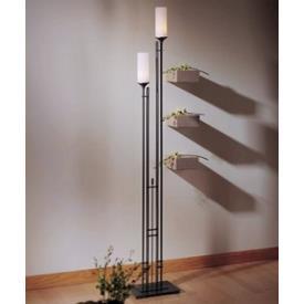 Hubbardton Forge 24-8416C Metra Twin - Two Light Tall Floor Lamp