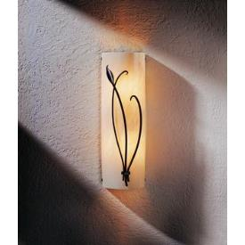 Hubbardton Forge 30-5770L Forged Leaf - Two Light Left Outdoor Wall Sconce