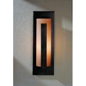Hubbardton Forge 30-7287SL Forged Vertical Bars - One Light Outdoor Wall Sconce