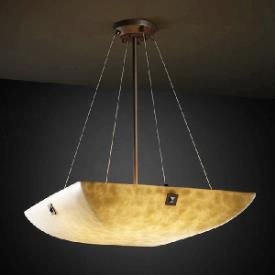 Justice Design PNA-9667 Porcelina - Eight Light Bowl Pendant