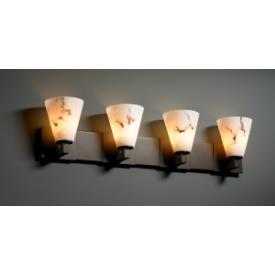Justice Design FAL-8924 LumenAria - Four Light Bath Bar