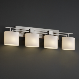 Justice Design FSN-8704 Aero Four Light Bath Bar