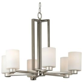 Kenroy Lighting 10186BS Encounters 6 Light Chandelier