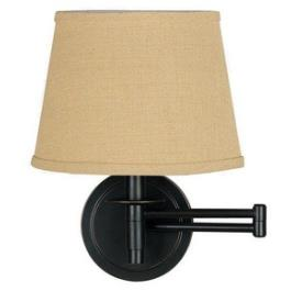 Kenroy Lighting 21011ORB Sheppard - One Light Swing Arm Wall Sconce