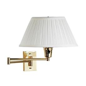 Kenroy Lighting 30100PBES-1 Element Swing Arm Wall Lamp