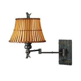 Kenroy Lighting 30454BH Kwai Swing Arm Wall Lamp
