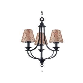 Kenroy Lighting 31367ORB Belmont Outdoor Chandelier