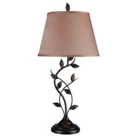 Kenroy Lighting 32239ORB Ashlen - One Light Table Lamp