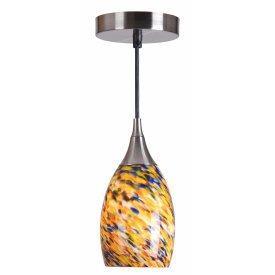 Kenroy Lighting 44301BS-CONF Medici Mini Pendant