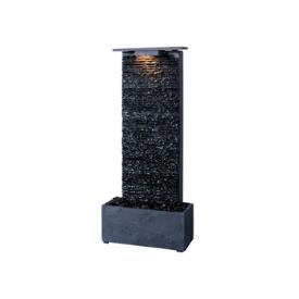 Kenroy Lighting 50282GYSL Bedrock Falls Table Fountain