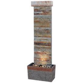 Kenroy Lighting 50293SLCOP Tacora Horizontal Floor Fountain