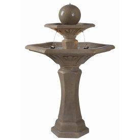 Kenroy Lighting 50325DT Provence - Two Light Outdoor Floor Fountain