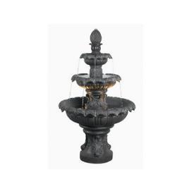 Kenroy Lighting 53200PLBZ Costa Brava Outdoor Fountain