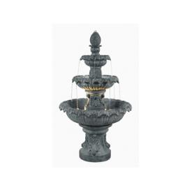 Kenroy Lighting 53200ZC Costa Brava Outdoor Fountain