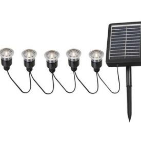 Kenroy Lighting 60503 Solar - Five Light Deck