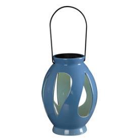Kenroy Lighting 60525BLU Leaves - LED Solar Lantern