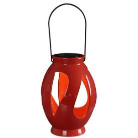 Kenroy Lighting 60525RED Leaves - LED Solar Lantern