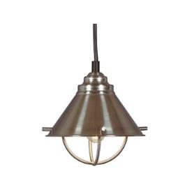 Kenroy Lighting 66342BS Harbour 1 Light Mini Pendant