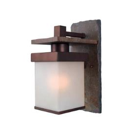 Kenroy Lighting 70282COP Boulder 1 Light Large Wall Lantern