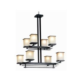 Kenroy Lighting 90384ORB Plateau 8 Light Chandelier
