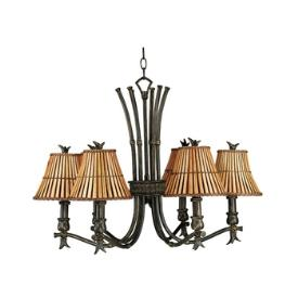 Kenroy Lighting 90456BH Kwai 6 Light Chandelier
