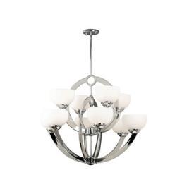 Kenroy Lighting 91555CH Nova 10 Light Chandelier