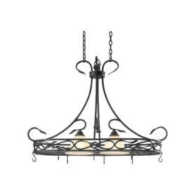 Kenroy Lighting 91562RBRZ Countryside 2 Light Potrack
