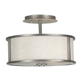 Kenroy Lighting 91582 Whistler - Two Light Semi-Flush Mount
