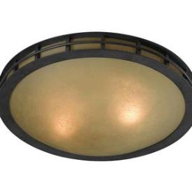 Kenroy Lighting 91595FGRPH Pane - Two Light Flush Mount