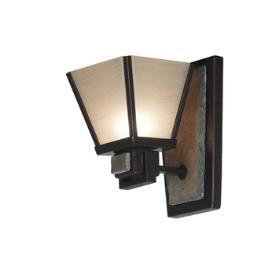 Kenroy Lighting 91601ORB Clean Slate 1 Light Sconce