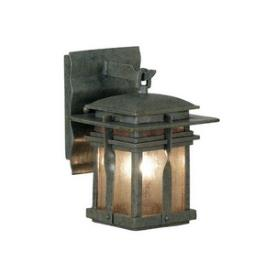 Kenroy Lighting 91900RST Carrington Ex - One Light Small Wall Mount