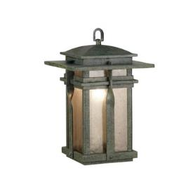 Kenroy Lighting 91904RST Carrington - One Light Hanging Lantern