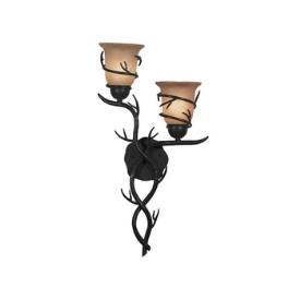 Kenroy Lighting 92136BRZ Twigs Sconce - 2 Light