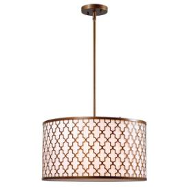 Kenroy Lighting 93373AG Tripoli - Three Light Pendant