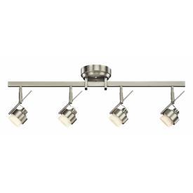 Kichler Lighting 10326NI Four Light Led Fixed Rail