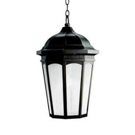 Kichler Lighting 11016RZ Courtyard - One Light Outdoor Pendant