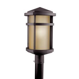 Kichler Lighting 11070AZ Lantana - One Light Outdoor Post Mount