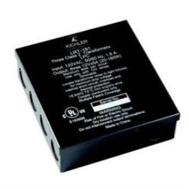 Kichler Lighting 12533BK Bright Disc - 12V Transformer