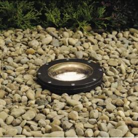 Kichler Lighting 15194AZ One Light In Ground Lamp