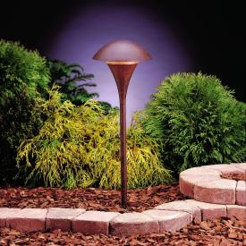 Kichler Lighting 15236TZT Eclipse - Line Voltage One Light Path Lamp
