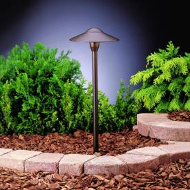 Kichler Lighting 15310AZT Low Voltage One Light Path Lamp