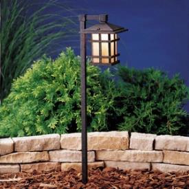 Kichler Lighting 15322AGZ Cross Creek - Low Voltage One Light Path Lamp